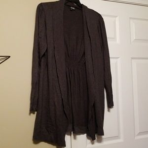 Open front 3xl cardigan